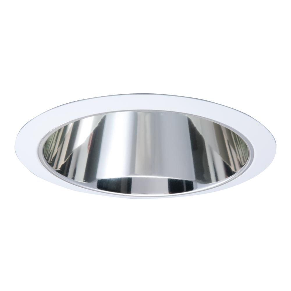 Halo 426 series 6 in white recessed ceiling light with specular white recessed ceiling light with specular reflector cone trim arubaitofo Image collections