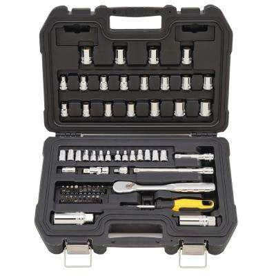 1/4 in. and 3/8 in. Drive Combination Socket Set (61-piece)
