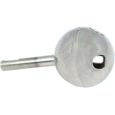 Single-Handle Stainless Steel Ball for Delta Lav/Kitchen/Tub/Shower Faucets