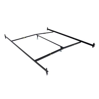 Black Adjustable Bedframe Headboard Footboard Hook on Bed Rails