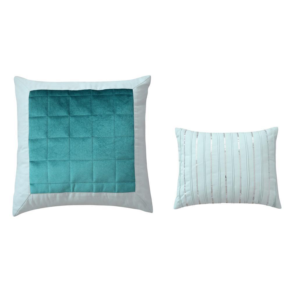 Eucalyptus Cotton Sateen Throw Pillow (Set of 2)