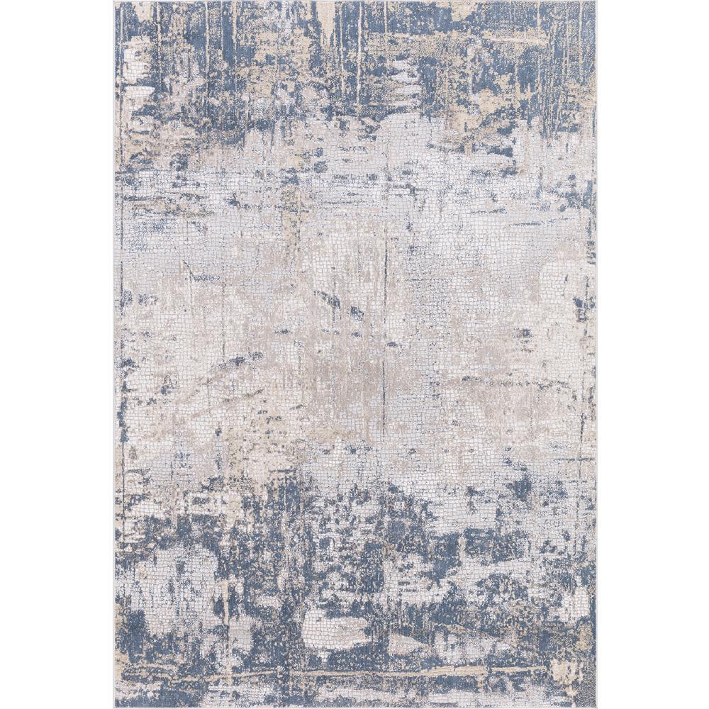 Amer Rugs Hilamrose Navy Blue Abstract