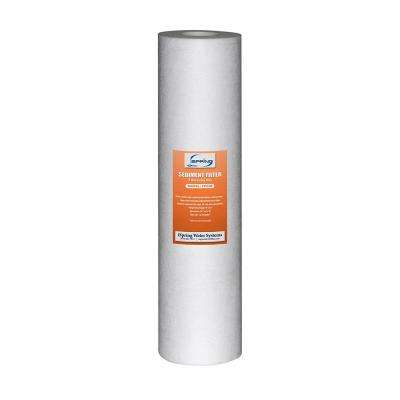 123Filter 20 in. x 4.5 in. 5 Micron Big Blue Sediment Water Filter Replacement Cartridge