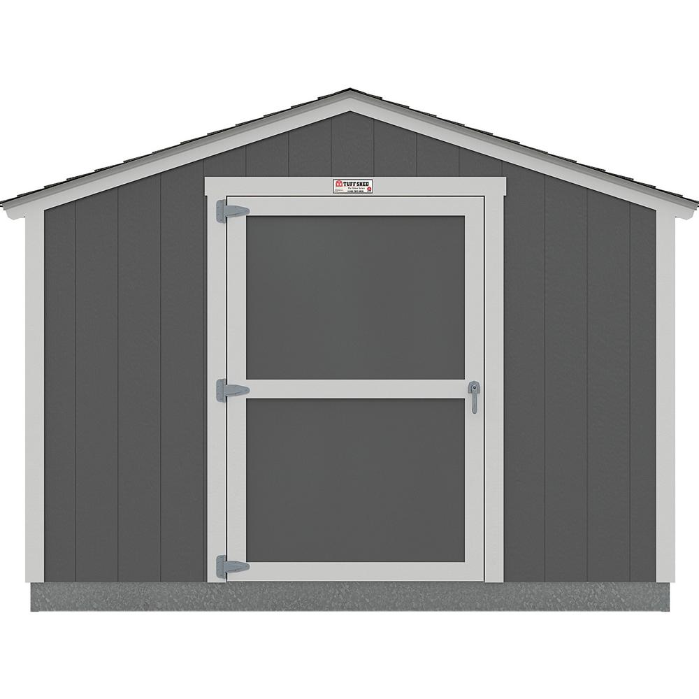 Tuff Shed Installed The Tahoe Series Standard Ranch 10 Ft X 12 Ft X 8 Ft 2 In Painted Wood Storage Building Shed 10x12 Sr E1 The Home Depot