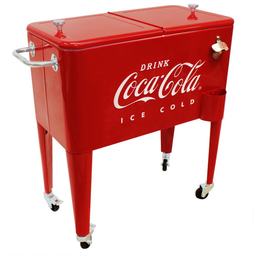 65 Qt. Coca Cola Cooler