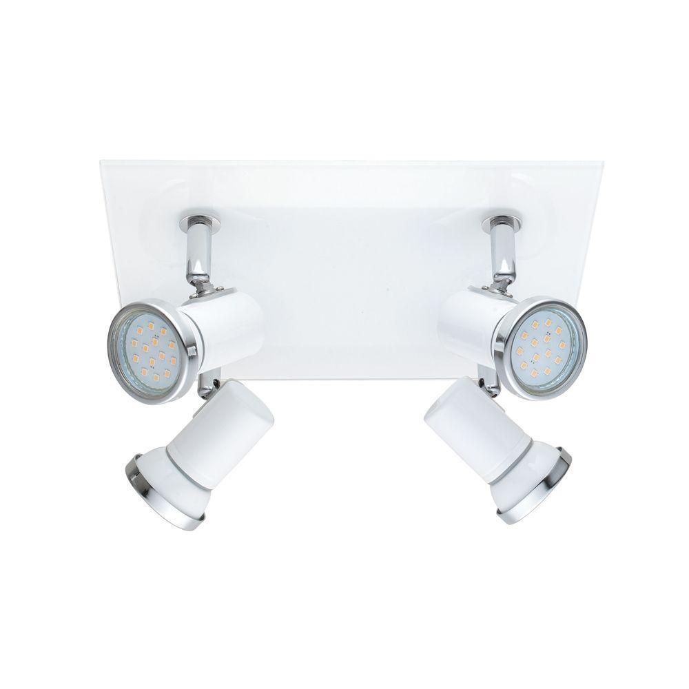 Tamara 1 4-Light White Track Light