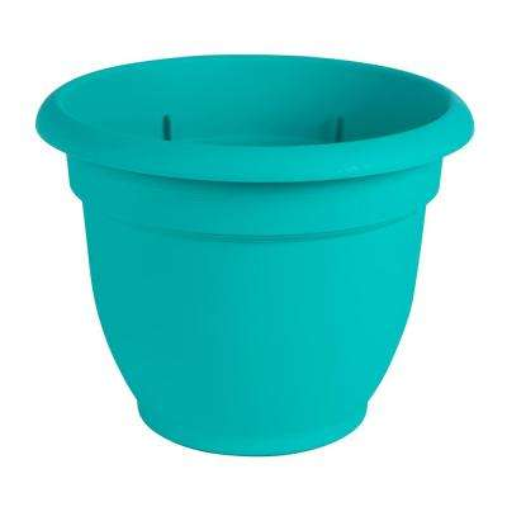 Ariana 12 in. Calypso Plastic Self Watering Planter