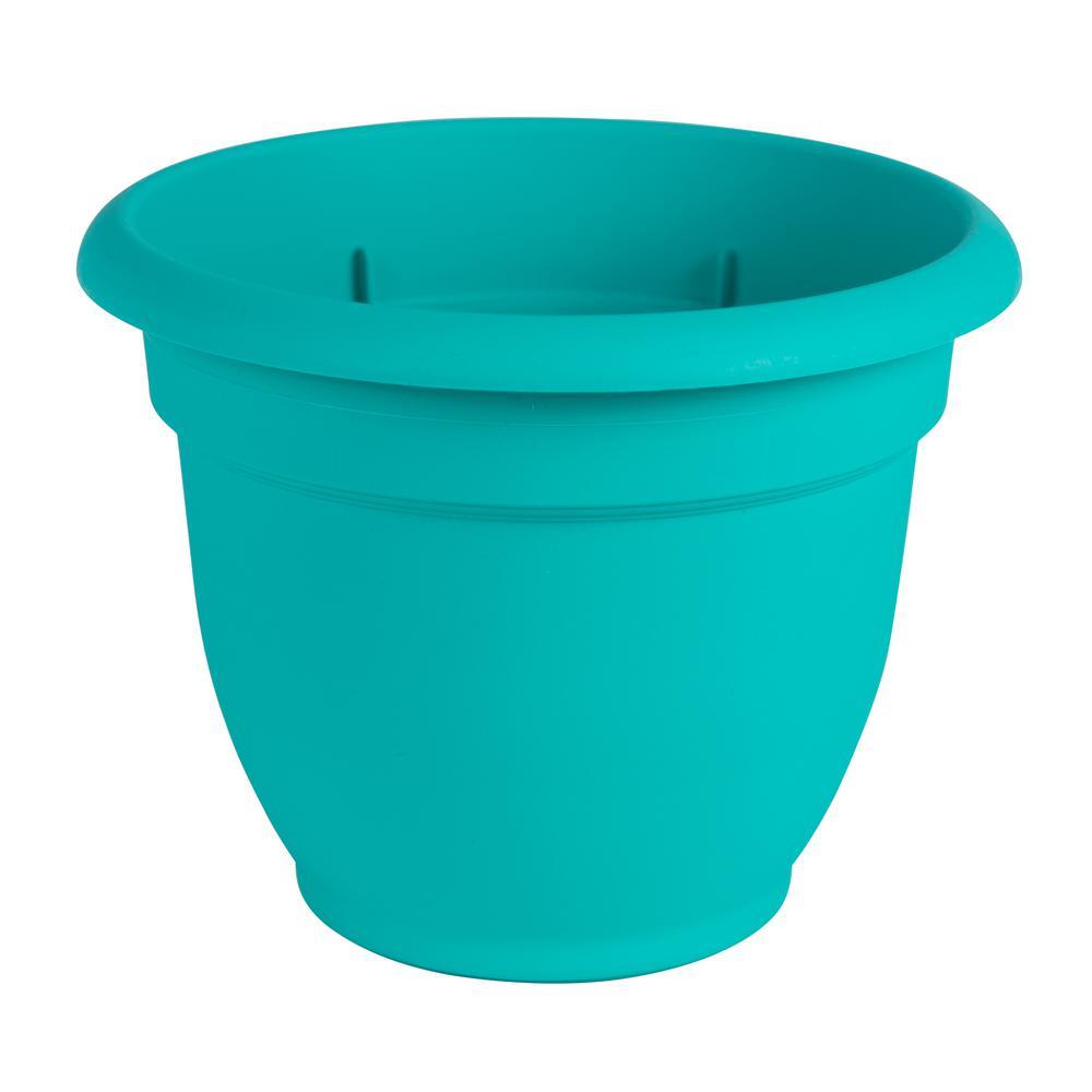 Ariana 16 in. Calypso Plastic Self Watering Planter