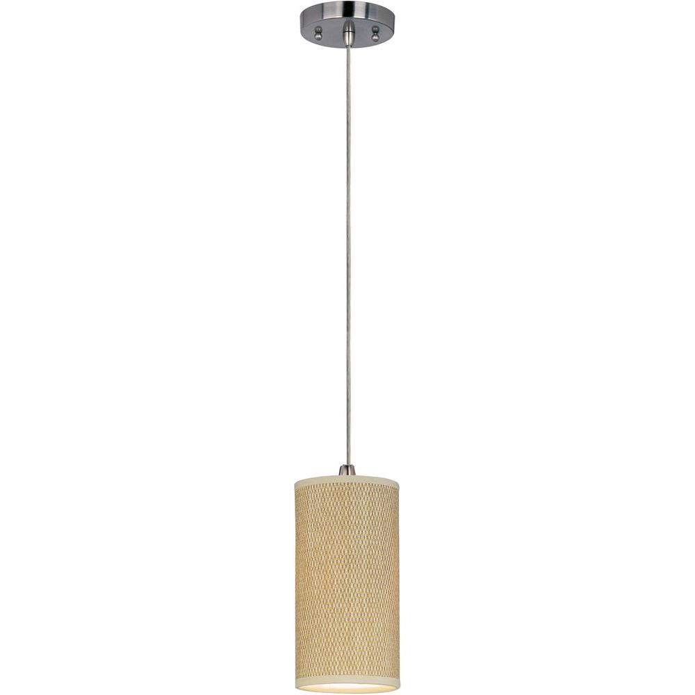 CLI Elements 1-Light Pendant with Cord  sc 1 st  Home Depot & CLI Elements 1-Light Pendant with Cord-E95020-101SN - The Home Depot azcodes.com