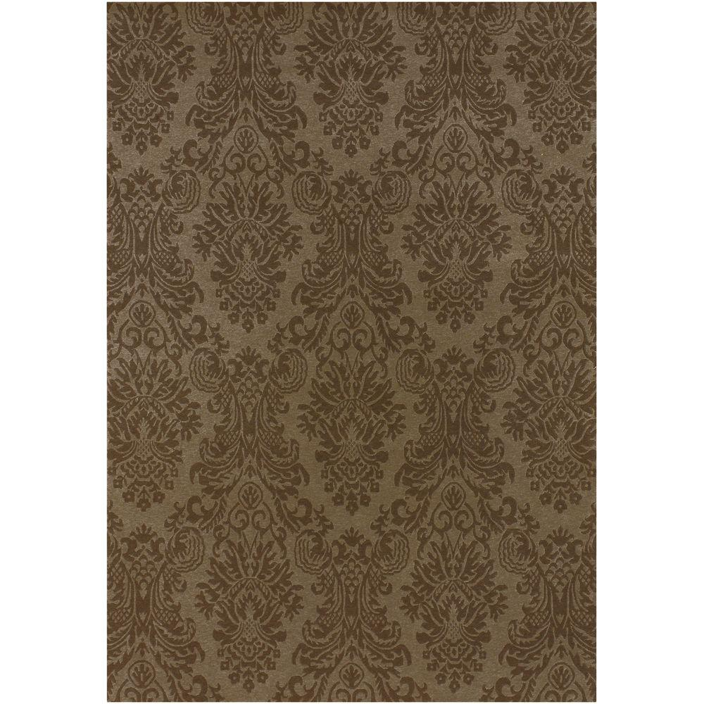Artistic Weavers Jeannette Brown 5 ft. 6 in. x 8 ft. 6 in. Area Rug