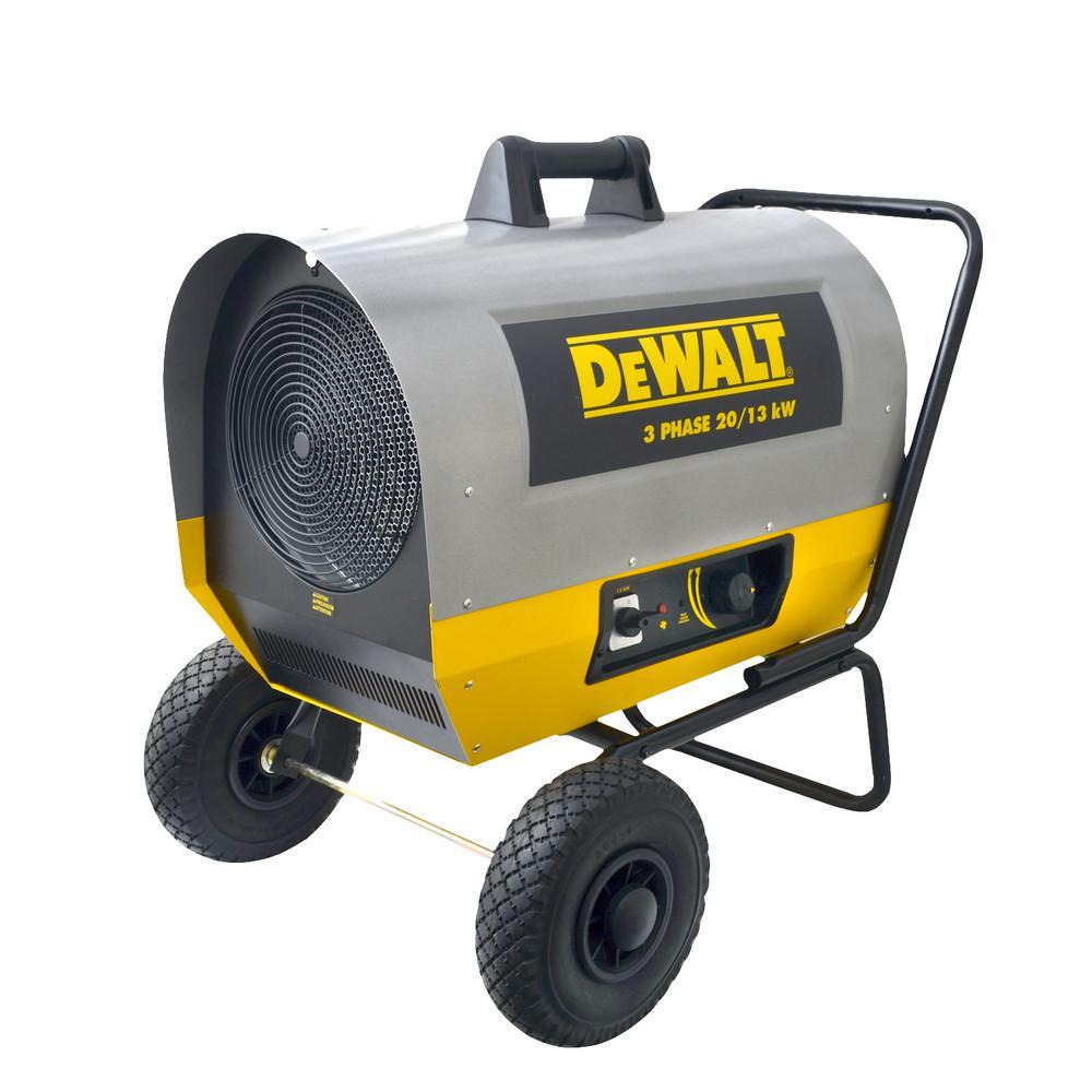 Fan Heater 6000-Watt Electric Workshop Garage Shop Utility Adjustable Air Flow