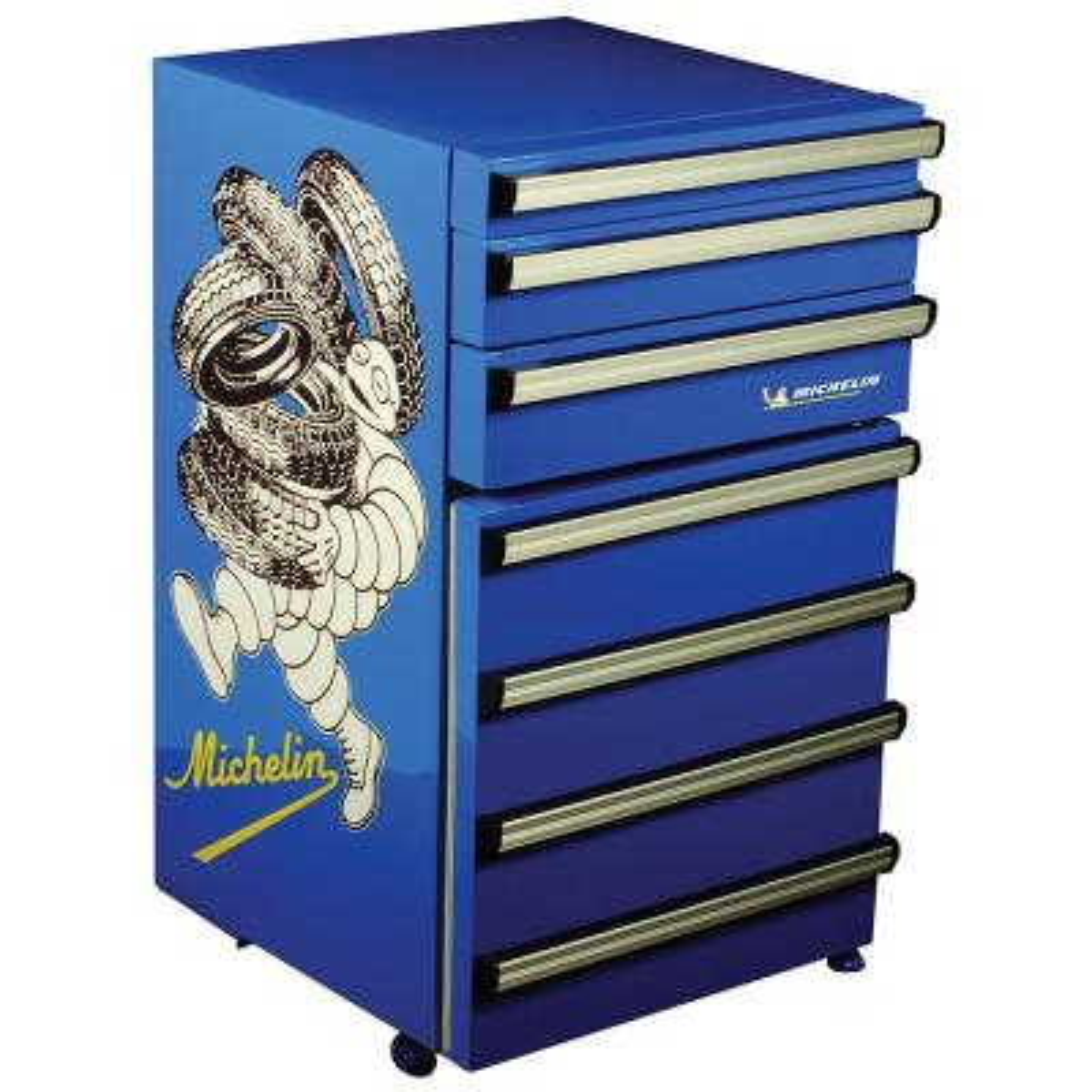 Tool Chest Fridge 50 Lt. (1.8 cu. ft.) Mini Refrigerator in Blue