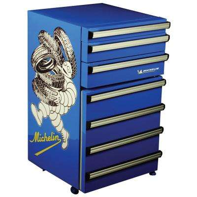 Tool Chest Fridge 50 Lt. (1.8 cu. ft.) Mini Refrigerator in Blue
