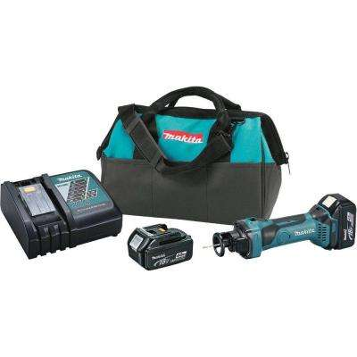 18-Volt LXT Lithium-Ion 17 in. Cordless Cut-Out Tool Kit