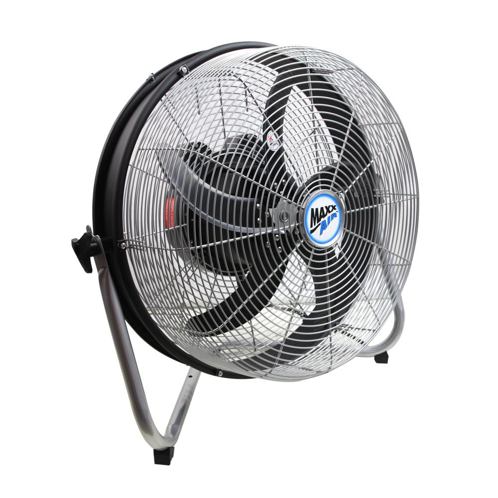 Home Depot Fans: MaxxAir 18 In. 3-Speed Floor Fan With Internal Oscillation