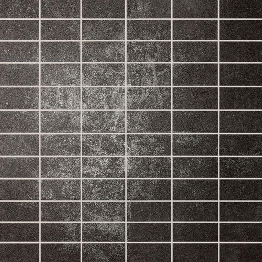 Daltile Metal Effects Radiant Iron 12 in. x 12 in. x 9-1/2mm Porcelain Sheet Mosaic Tile (10.56 sq. ft. / case)-DISCONTINUED