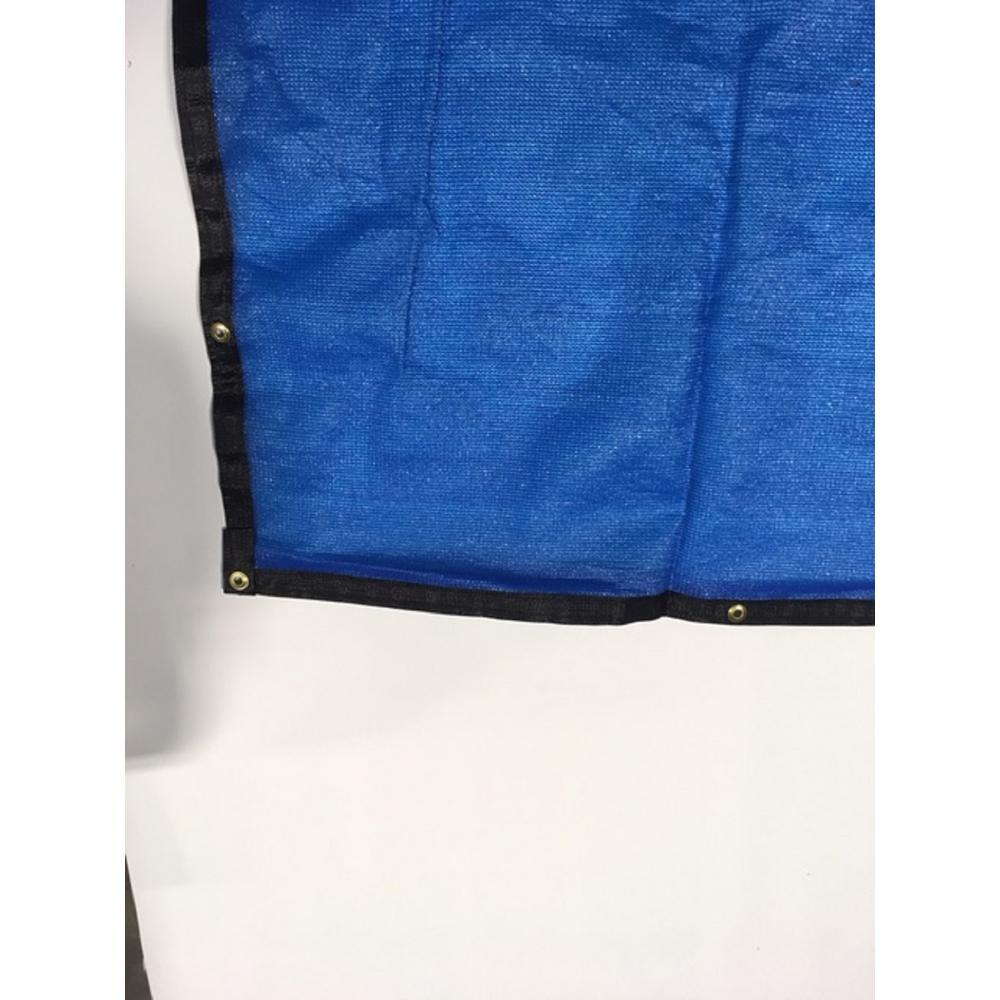 92 in. H x 600 in. W High Density Polyethylene Royal Blue Privacy/Wind Screen Fencing
