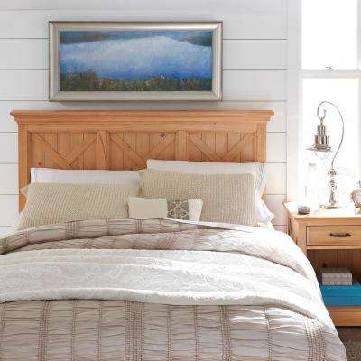 Country Lodge Pine Queen/Full Headboard