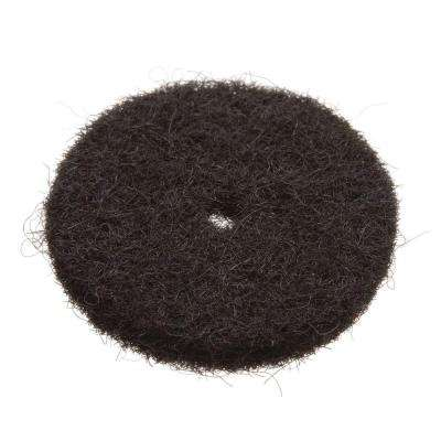 11/16 in. Black Felt Washer