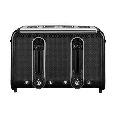 Studio 4-Slice Black/Polished Toaster