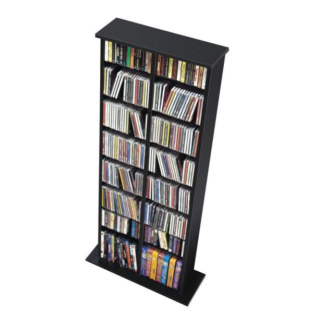 Prepac Black Media Storage BMA-0320