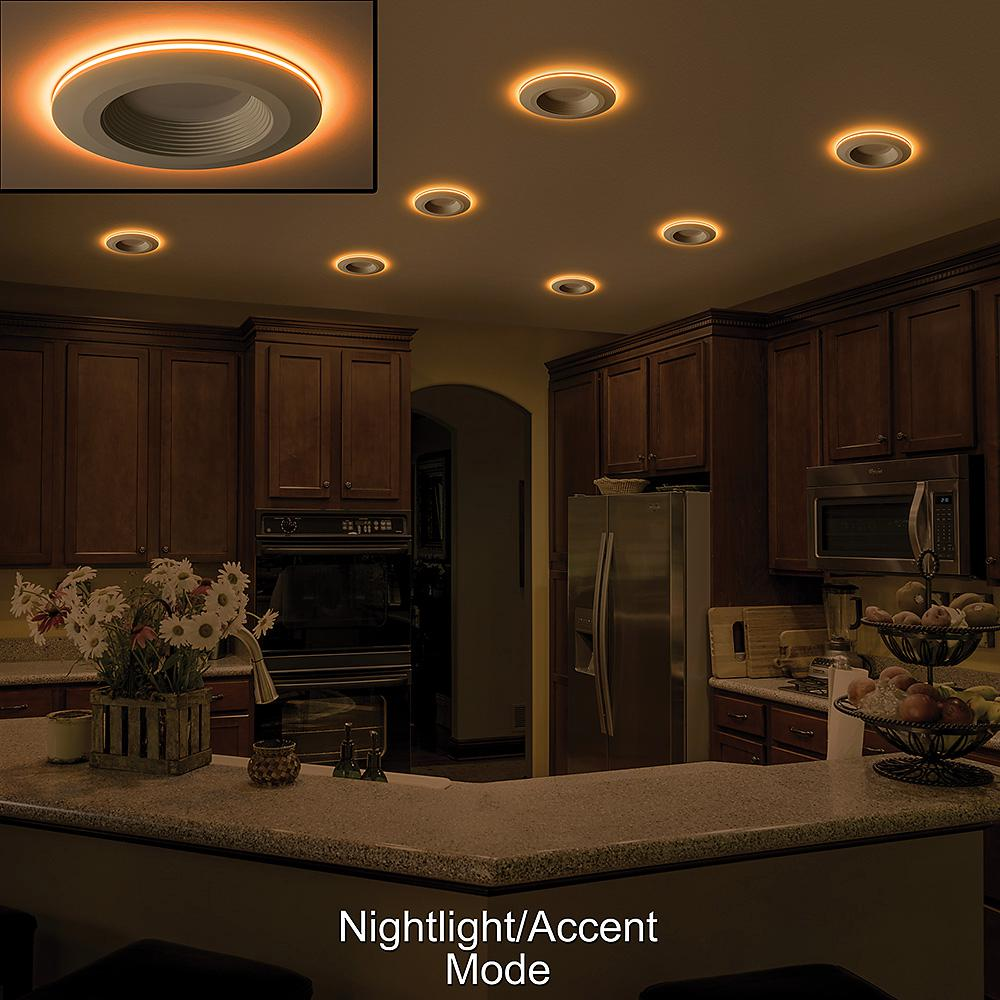 Selectable Integrated Led Recessed Trim