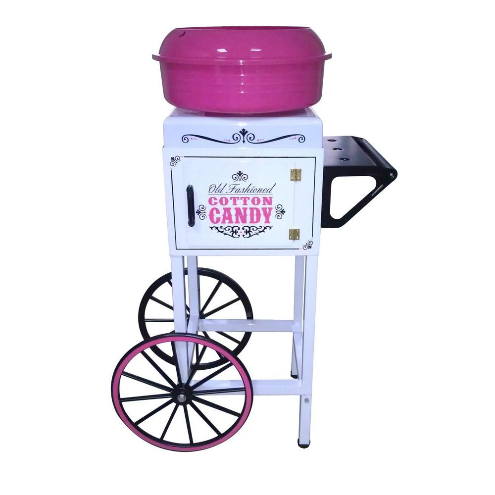 Nostalgia Electrics Vintage Collection Hard and Sugar-Free Candy Cotton Candy Cart