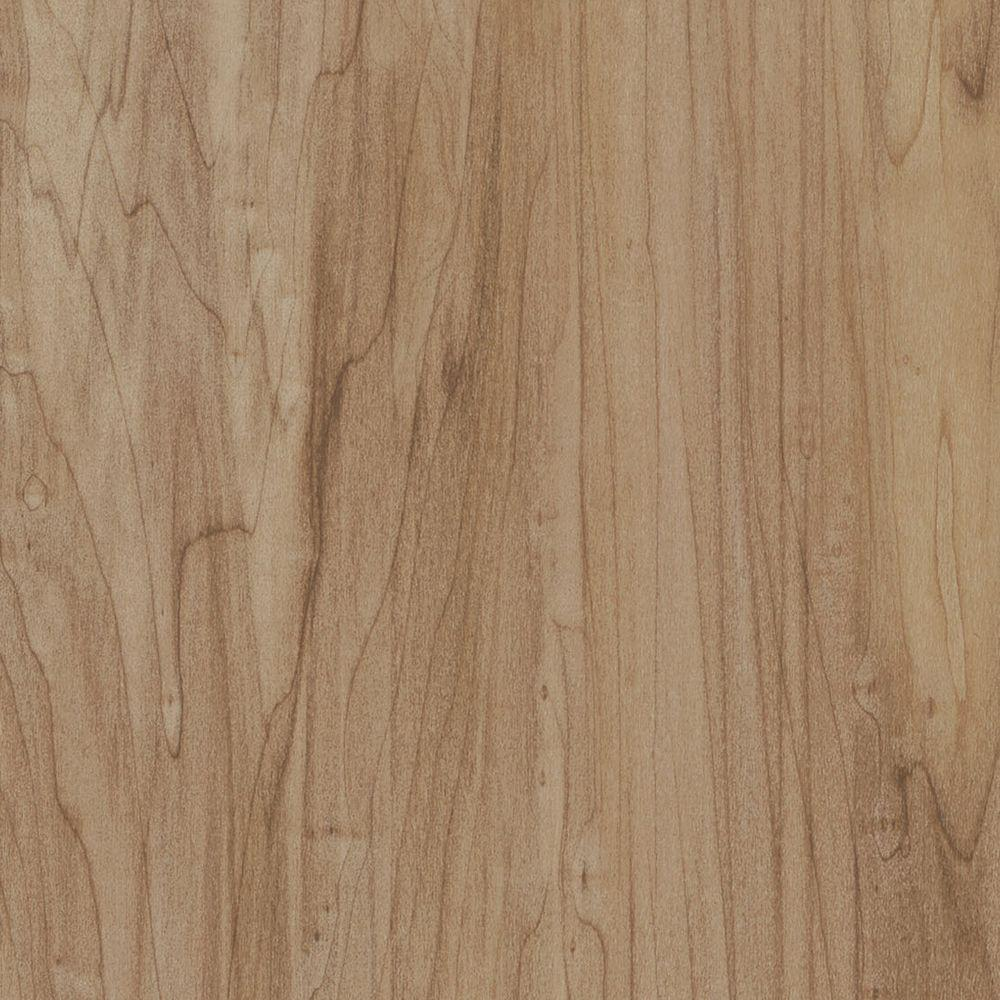TrafficMASTER Take Home Sample   Point Breeze Maple Resilient Vinyl Plank  Flooring   4 In.