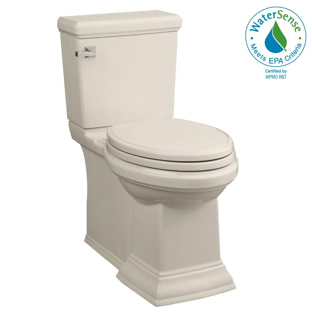 Town Square FloWise 2-piece 1.28 GPF Tall Height Elongated Toilet in