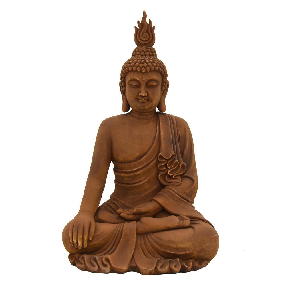 41.75 in. Buddha Figurine