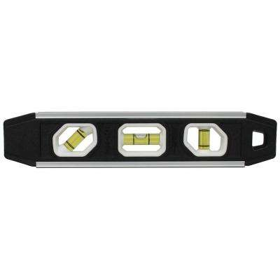 9 in. Magnetic Aluminum Reinforced Torpedo Level