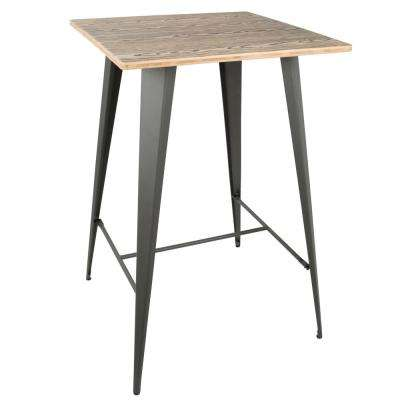 Oregon Grey and Brown Pub Table