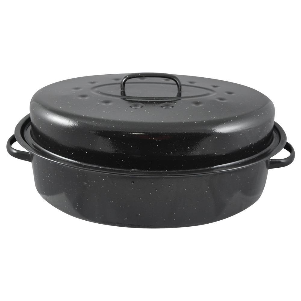 10.54 Qt. Carbon Steel Roasting Pan