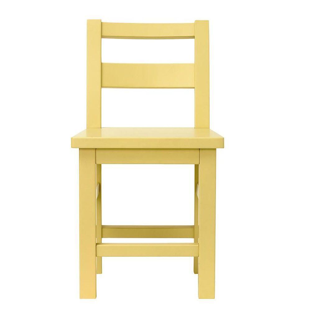 Kids 26 in. H Cornbread Craft Armless Chair