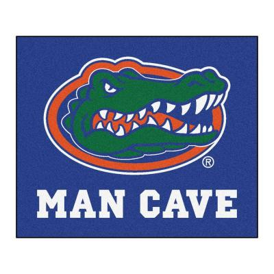 University of Florida Blue Man Cave 5 ft. x 6 ft. Area Rug