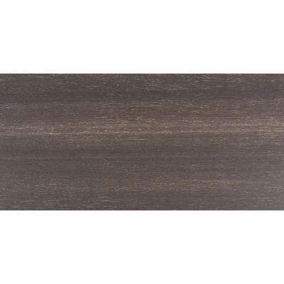 Turin Nero 12 in. x 24 in. Glazed Ceramic Floor and Wall Tile (16 sq. ft. / case)