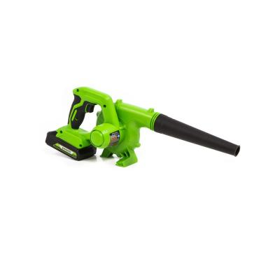 90 MPH 180 CFM 24-Volt Battery Cordless Shop Blower with 2.0 Ah USB Battery and Charger Included SBL24B211