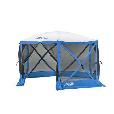 Quickset Escape 6-Side Blue/White Sport Screen Shelter