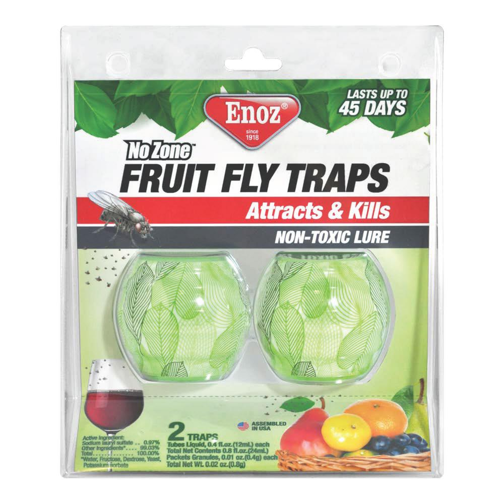 Enoz Fruit Fly Traps (2-Pack)