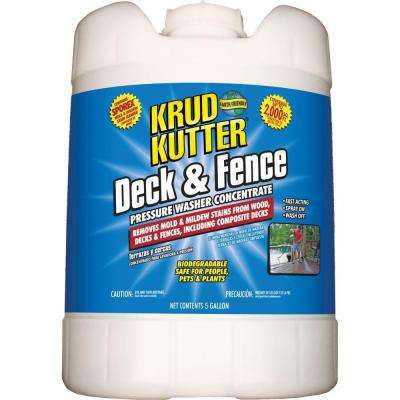 5 gal. Deck and Fence Pressure Washer Concentrate