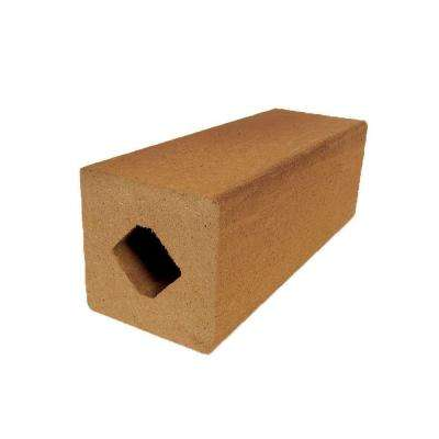 Vantage 4-1/4 in. x 4-1/4 in. x 51 in. Rustic Cedar Solid Composite Square Post with Center Chase
