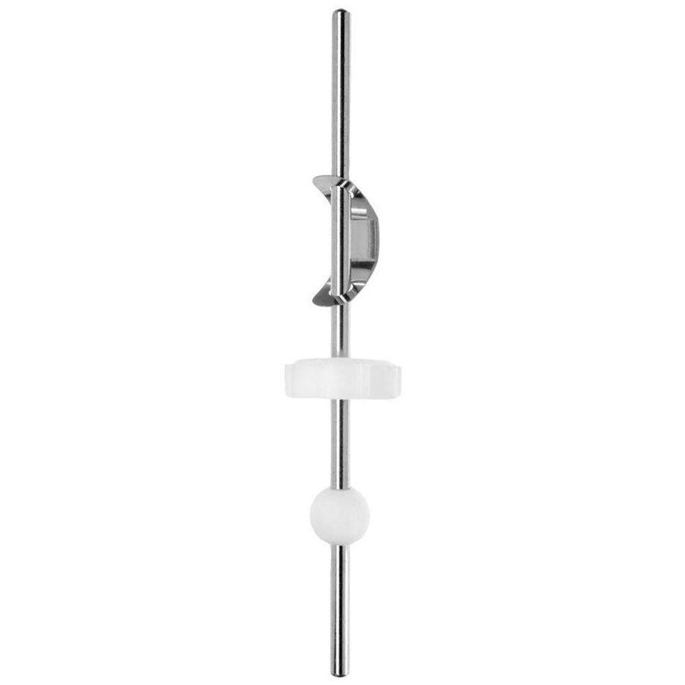 DANCO 6 in. Lavatory Faucet Pop-Up Ball Rod, Grey