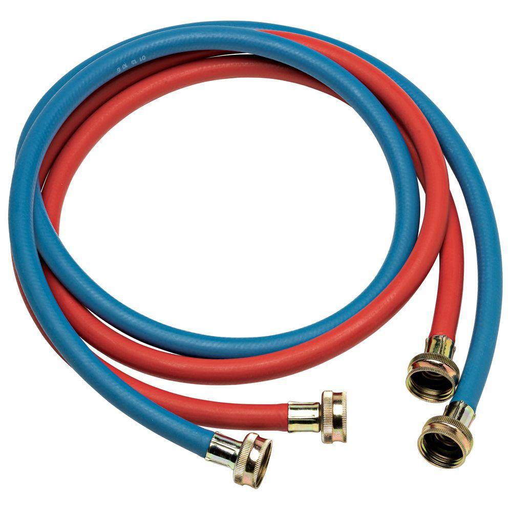 Everbilt 5 ft. Red and Blue Fill Hose
