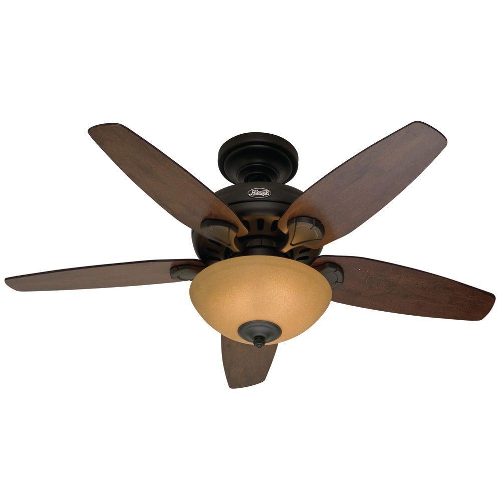 Hunter Stratford 44 in. New Bronze Ceiling Fan
