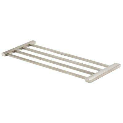 23.75 in. Wall Mount Towel Rack in Brass