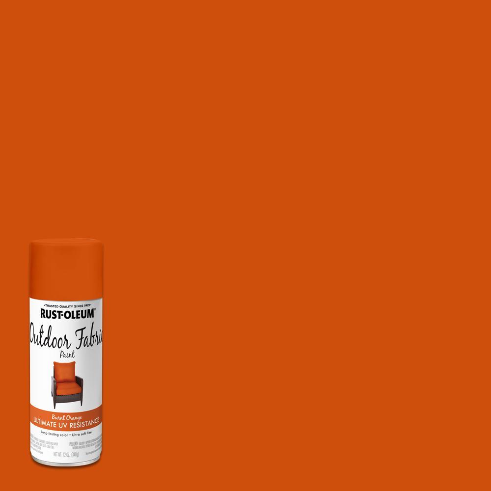 Rust-Oleum 12 Oz. Burnt Orange Outdoor Fabric Spray Paint