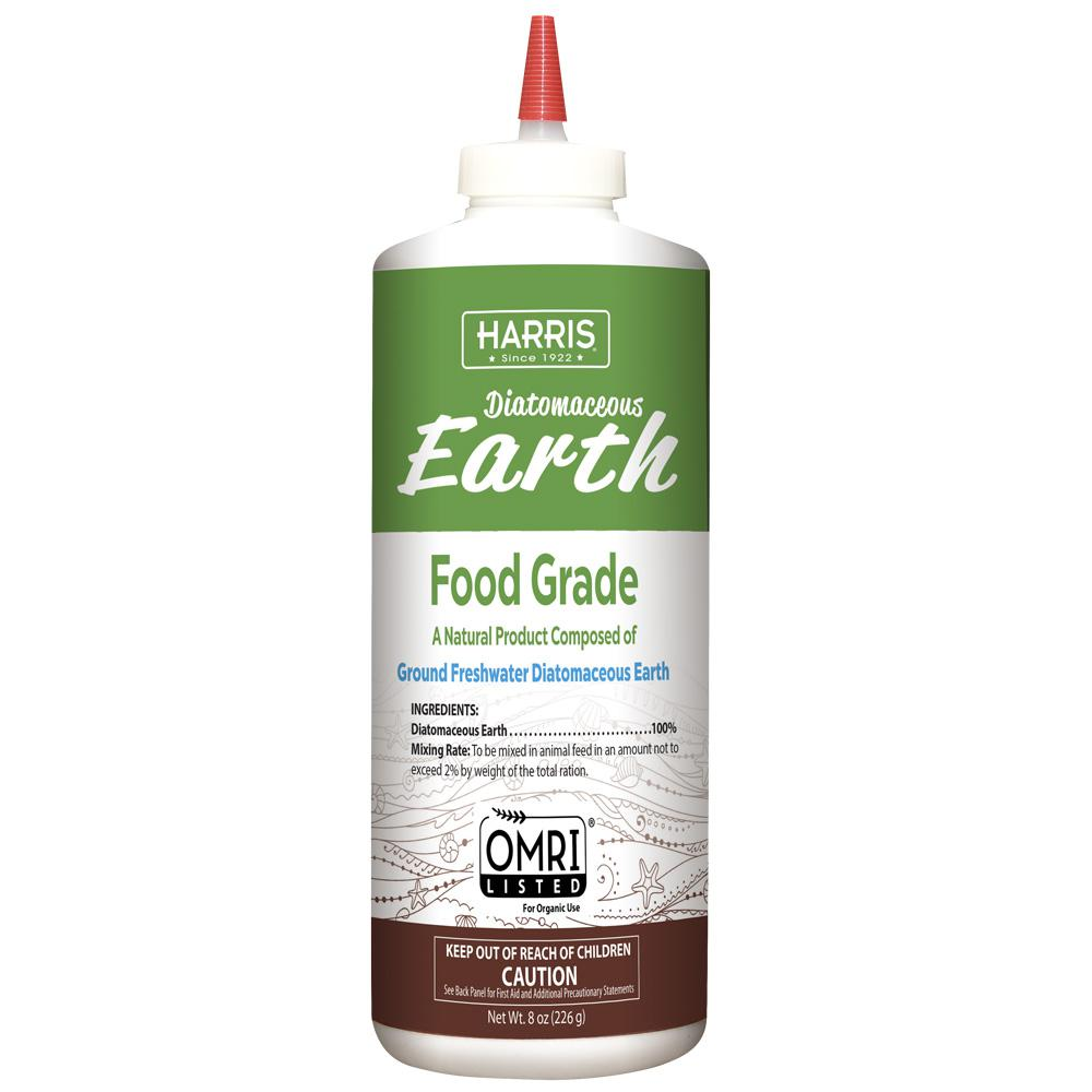 Harris 8 oz. Diatomaceous Earth Food Grade