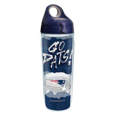 NFL New England Patriots Statement 24 oz. Double Walled Insulated Water Bottle