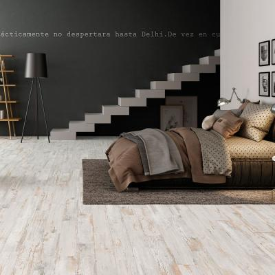 Tribeca White 8 in. x 26 in. Glazed Porcelain Floor and Wall Tile (12.92 sq. ft. / case)