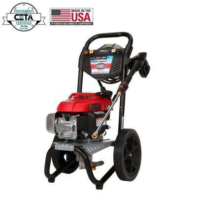 MegaShot 2800 psi at 2.3 GPM HONDA GCV160 Premium Gas Pressure Washer